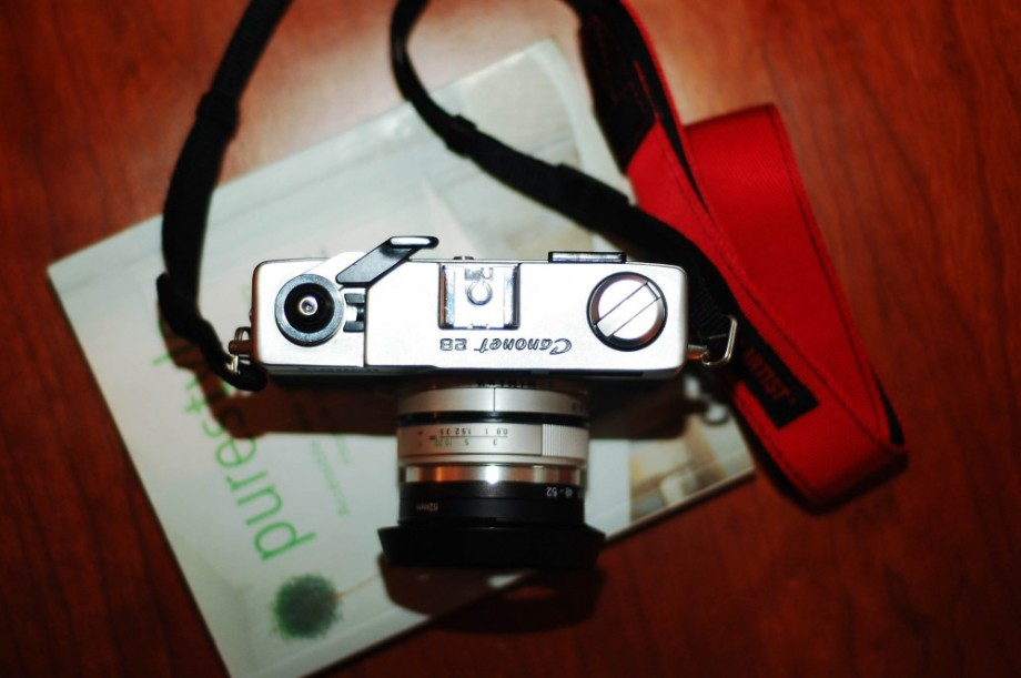 canonet 28 top view